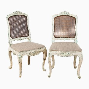 19th Century Louis XV Style Chairs, Set of 2