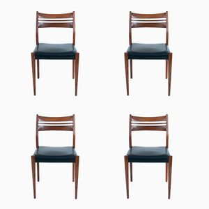 Mid-Century Danish Dining Chairs by Arne Vodder, Set of 4