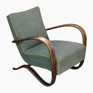 Vintage H269 Armchair by Jindrich Halabala for Thonet, 1930s