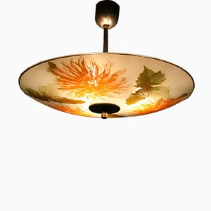 Czechoslovakian Ceiling Lamp from SEC, 1960s