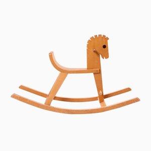 Cavallino a dondolo Peter di Konrad Keller per Konrad Keller Toys, anni '50