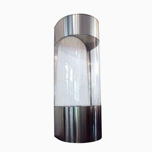 Tree Box in Steel and Plexiglass, 1970s