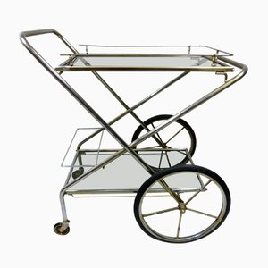 Vintage Foldable Serving Trolley