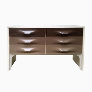 Vintage Taupe Commode by Raymond Loewy