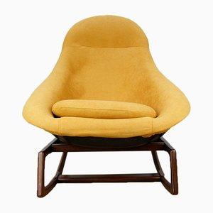 Sedia a dondolo di W. S. Chenery per Lurashell, anni '60