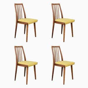 Tschechische Esszimmerstühle von TON, 1960er, 4er Set