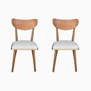 Czech Dining Chairs by Jitona Sobeslav, 1960s, Set of 2