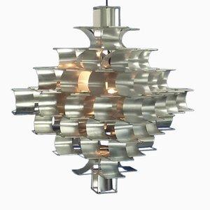 Große Vintage Cassiopee Lampe von Max Sauze für Atrow