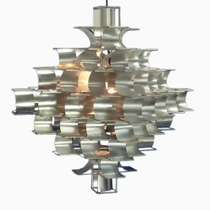 Vintage Large Cassiopee Lamp by Max Sauze for Atrow