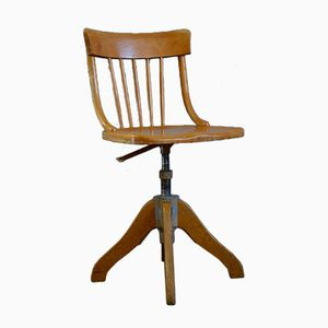 Industrial Swivel Workshop Chair from WGZ, 1954