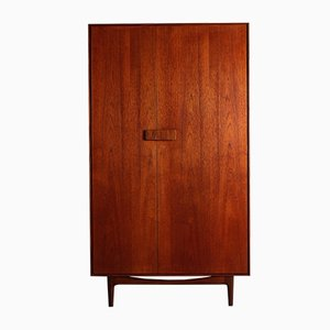 Danish Teak Wardrobe by Ib Kofod-Larsen for G-Plan, 1960s