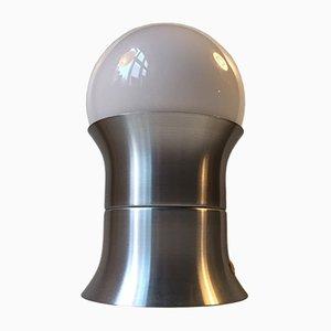 Lampada da tavolo Formland Mid-Century con sfera in vetro opalino di Sidse Werner per Fog & Mørup, anni '70