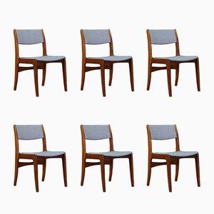 Chaises de Salon Mid-Century de Skovby, Danemark, Set de 6