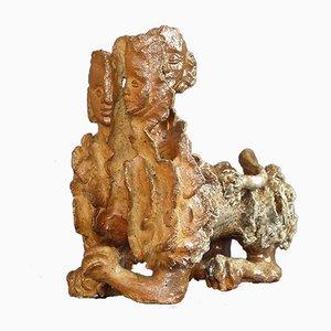 Skulpturale Vase von Janina Karczewska, 1977