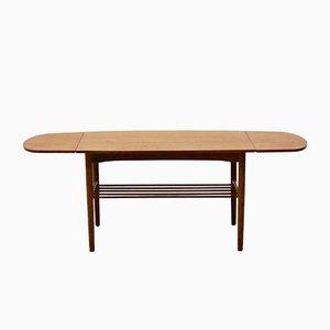 Table Basse Vintage Extensible, Danemark, 1960s