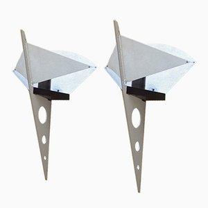 Lampade da parete Filicudara vintage di Steve Lombardi per Artemide, set di 2