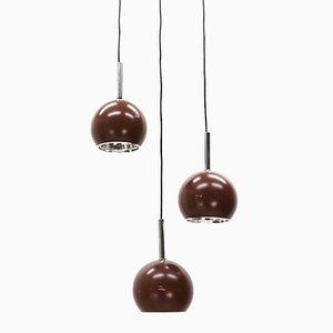 Lampes à Suspension Vintage, 1970s, Set de 3