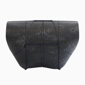 Black Bound Stool by Maarten Kolk & Guus Kusters