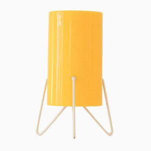 Yellow Perspex Table Lamp from Stilnovo, 1954