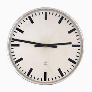 Horloge de Gare Vintage d'Iskra Kranj, 1957