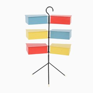Costurero colorido, años 60