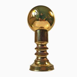 Lampada da tavolo Mid-Century sferica specchiata di Frimann, anni '60