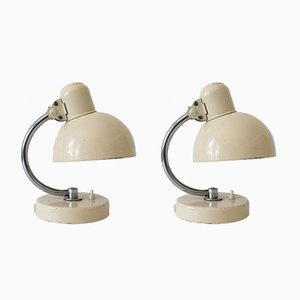 Bauhaus 6722 Table Lamps by Christian Dell for Kaiser Idell, 1930s, Set of 2