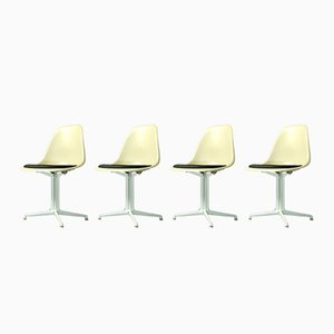 Fiberglass Side Chairs by Charles & Ray Eames for Vitra, Set of 4