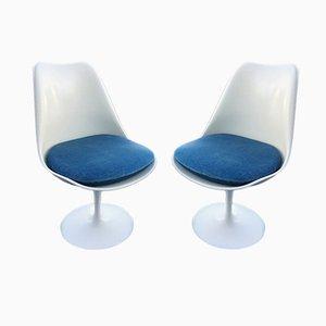 Sillas Tulip de Eero Saarinen para Knoll Inc. / Knoll International, años 70. Juego de 2