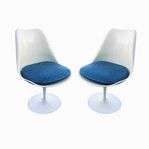 Tulip Chairs von Eero Saarinen für Knoll Inc. / Knoll International, 1970er, 2er Set