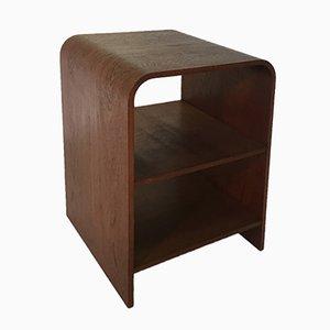 Tavolino impiallacciato in quercia, Scandinavia, anni '50