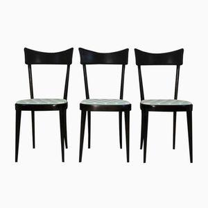 Chaises de Salon, 1950s, Set de 3