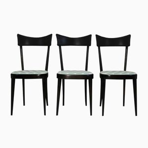 Dining Chairs, 1950s, Set of 3