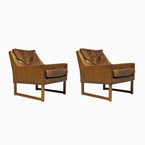 Mid-Century Armchairs by Rudolf B. Glatzel for Kill International, Set of 2