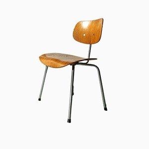 SE 68 Walnut Veneer Chair by Egon Eiermann for Wilde & Spieth, 1960s