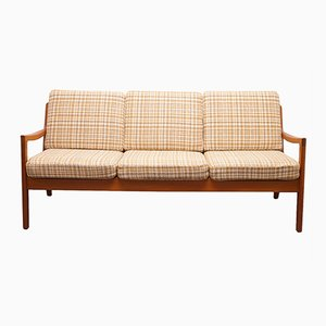 Mid-Century Senator Teak Sofa by Ole Wanscher for France & Søn/ France & Daverkosen