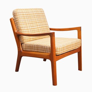 Mid-Century Senator Teak Chair by Ole Wanscher for France & Søn/ France & Daverkosen