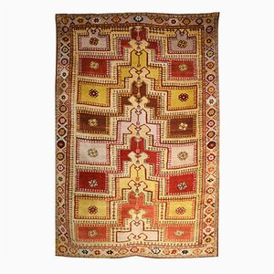 Antique Turkish Melas Rug, 1920s