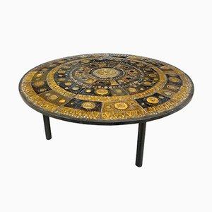Table Basse en Céramique par Renate Rhein, Allemagne, 1960s
