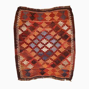 Alfombra Afghan Kilim vintage hecha a mano, años 60