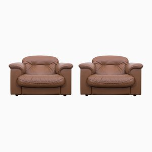 Mid-Century DS 101 Lounge Chairs from De Sede, Set of 2