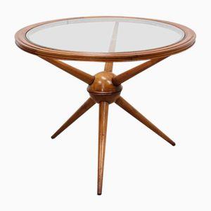 Mid-Century Sputnik Circular Coffee Table
