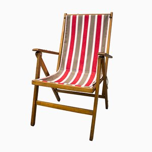 Beach Chair from Fratelli Reguitti, 1950s