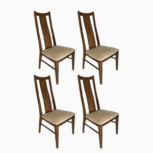 Sillas estadounidenses de Garrison Furniture Company, años 60. Juego de 4