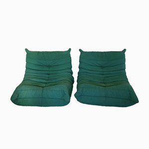 Togo Lounge Chairs by Michel Ducaroy for Ligne Roset, Set of 2