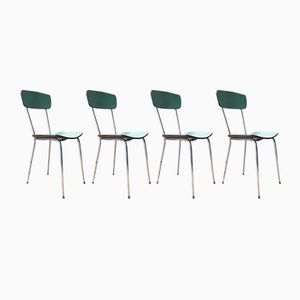 Formica Chairs, 1950s, Set of 4