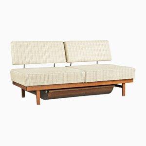 Sofá cama Stella de Knoll, años 50