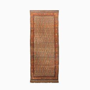 Antiker Teppich mit Boteh-Muster, 1880er