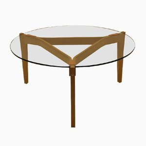 Tavolino da caffè GE465 vintage di Hans J. Wegner per Getama
