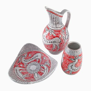 Italian Ceramic Set from Fratelli Fanciullacci